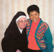 SSND Bookends: Sister Mary John Baptist Schneider and Sister Raquel Ortez