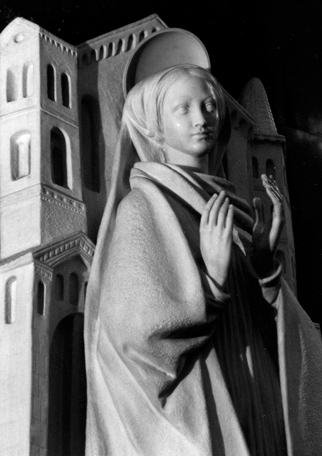 Mary, Mother of the Church statue located at the Generalate in Rome, photographer: Hildegard Poletty