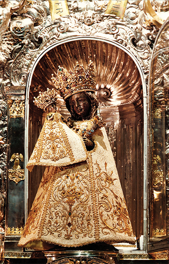 Mother Theresa's favorite Marian shrine was Our Lady of Altoetting, a Black Madonna revered for more than 500 years. Photographer: Hildegard Poletty