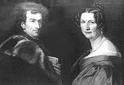 Dr. Johann and Friederike von Ringseis