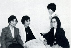 Sisters Ambrose Kawase, Evangela Imamura, Miriam Therese Kanaya, and Janet Tanaka established a mission in Nepal in 1983.