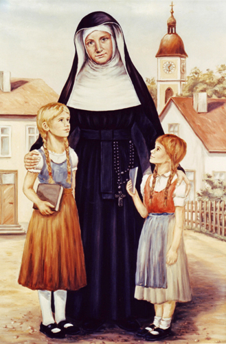 Mother Theresa Gerhardinger with children
