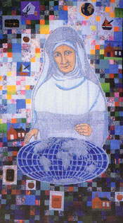 Mother Theresa quilt