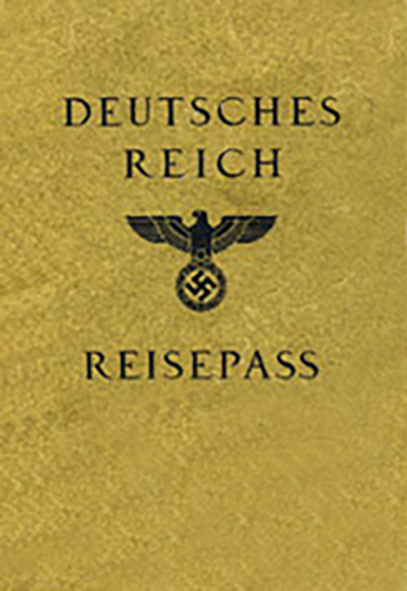 Passport Cover: Deutsches Reich Reisepass