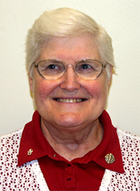 Photograph of Sister Janet Molik, SSND