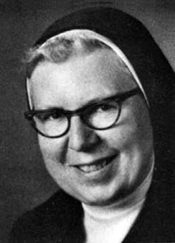 Sister Victoria Wiethaler