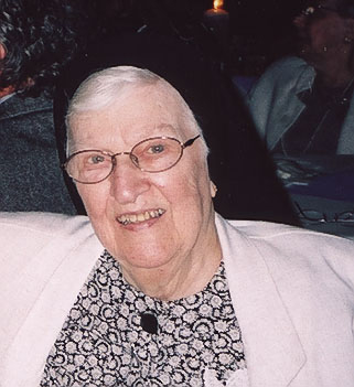Photo of Sister Carla Koestner, SSND